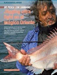 Jiigging ultra light en el mágico Oriente - Solopescaonline.es