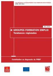 GROUPES FORMATION EMPLOI - Carif Oref Midi-Pyrénée