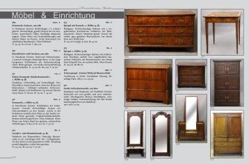 Möbel & Einrichtung - Kunstauktionshaus Günther in Dresden