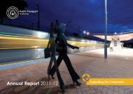 Annual Report 2011-12 - Public Transport Authority - The Western ...