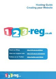 to download our guide to creating a website - 123-Reg