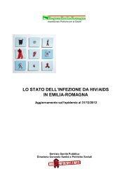 Lo stato dell'infezione da Hiv/Aids in Emilia-Romagna - dati ... - Saluter