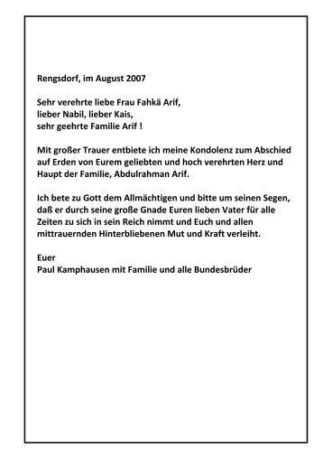 In Memoriam, Seine Exellenz Abdulrahman Arif, Bbr. Nabils Vater ...