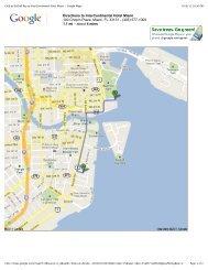 Club at Brickell Bay to InterContinental Hotel Miami - Google Maps