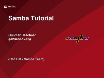 Samba Tutorial - sambaXP