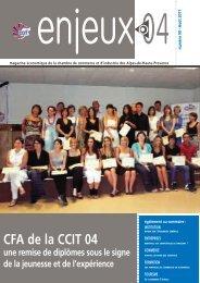 Enjeux04 n°90 - (CCI) des Alpes-de-Haute-Provence