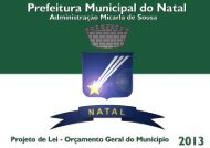 2013 - Prefeitura Municipal do Natal
