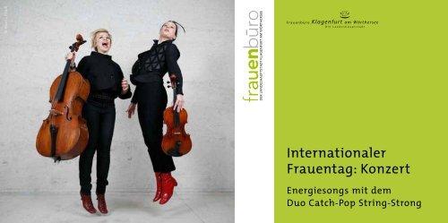 Internationaler Frauentag: Konzert - Klagenfurt