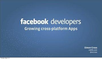 Growing cross-platform Apps