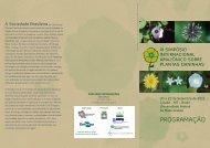 programação - Sociedade Brasileira da Ciência das Plantas Daninhas