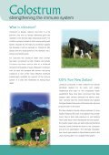 Colostrum 4 health.com. New Zealand Colostrum & products that ... - Page 2