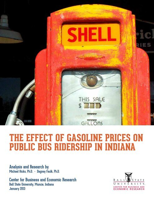 the effect of gasoline prices on public bus ridership in indiana - Citilink
