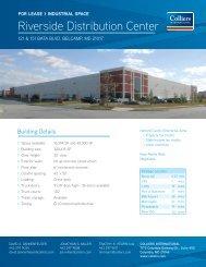 Riverside Distribution Center - Hearn Burkley