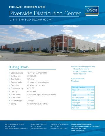 Riverside Distribution Center - Hearn Burkley