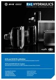 ACN und DCN Öl-Luftkühler - R+L HYDRAULICS