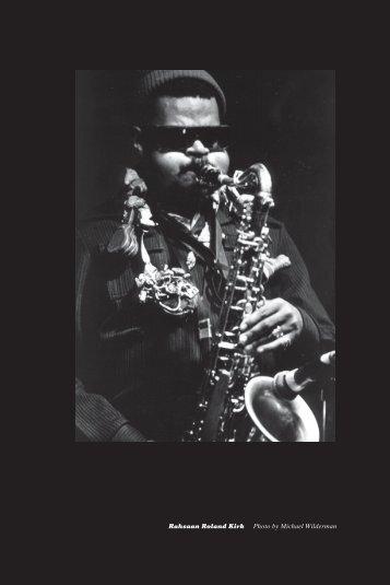 60 / running head - Jazz Studies Online