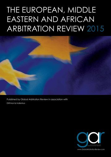 2014_10_GAR EMEA Arbitration_Review_fin