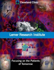 Cleveland Clinic Lerner Research Institute