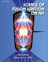 Science of Fusion Ignition on NIF Report Download—LLNL-TR ...