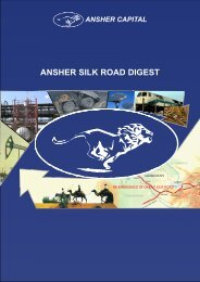 Ansher Silk Road Digest, March 28 - Ansher Holding Limited