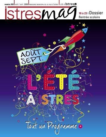 Télécharger ce numéro d'Istres Magazine