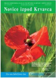 Izvedite na www.cerklje.si! Junij 2006 Novice izpod Krvavca