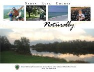 2009-2010 Annual Report - Santa Rosa County