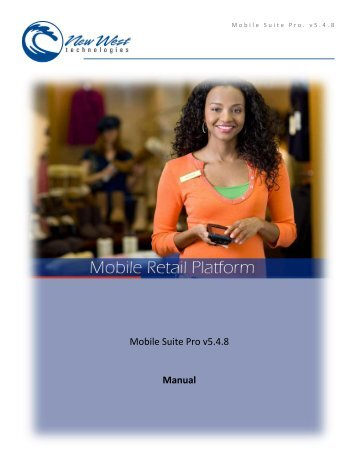 Mobile Suite Pro 5.4 - New West Technologies