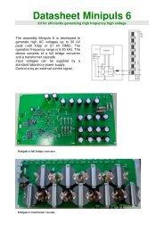 Datasheet Minipuls 6 - GBS Elektronik GmbH