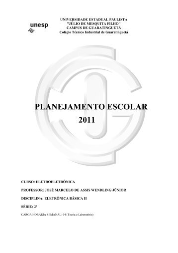 Plano do Curso (.pdf) - Unesp