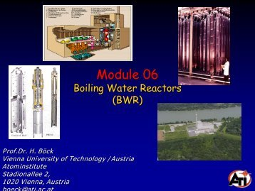 BOILING WATER REACTORS (BWR) - Atominstitut