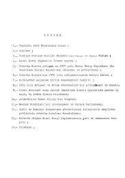 Yönetim Kurulu çalı~ma ve 1970 yılı Kesin Hesap Raporları ile ...
