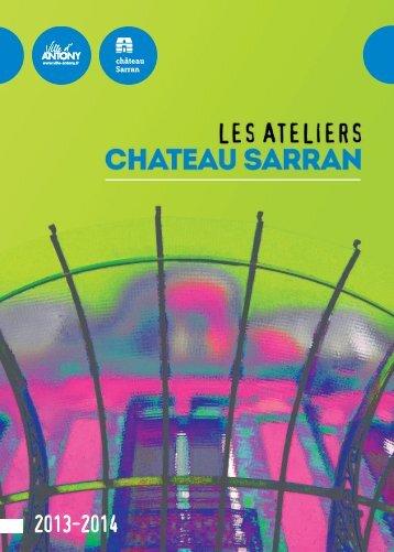 Télécharger la brochure du Château Sarran 2013 - Ville d'Antony