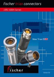 Fischer HD Pro+ catalog - Carraro Broadcasting Solutions
