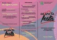 Camposcuola unitario soci - Il programma dettagliato - Azione ...
