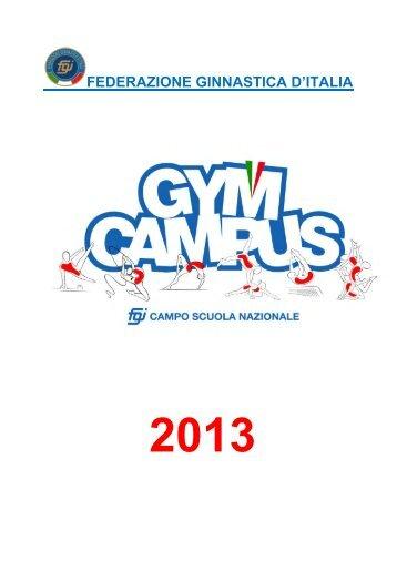GYMCAMPUS 2013 - Comitato Regionale Campania F.G.I.