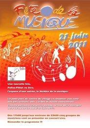 Fête de la musique 2011 Poliez-Pittet