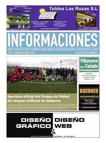 Apertura oficial del Campo de Fútbol de césped artificial de Quijorna