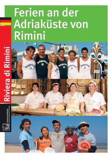 Ferien an der Adriaküste von Rimini