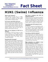 H1N1 Influenza Fact Sheet - cidrap
