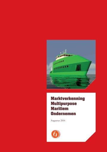 Summary: Market Research Multipurpose Maritime Entrepeneurship (2014)