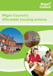 Home Ownership Loans Leaflet - Wigan Council