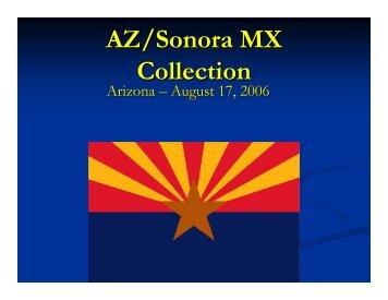 AZ/Sonora MX Collection