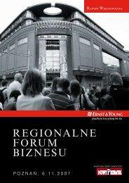 REGIONALNE FORUM BIZNESU - Ernst & Young