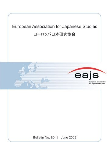 Bulletin No. 80 (June 2009) - EAJS