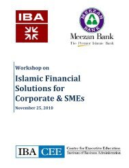 Islamic Financial Solutions for Corporate & SMEs - Meezan Bank
