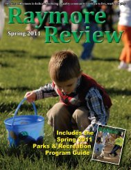 Raymore Review - Spring 2011.indd - City of Raymore