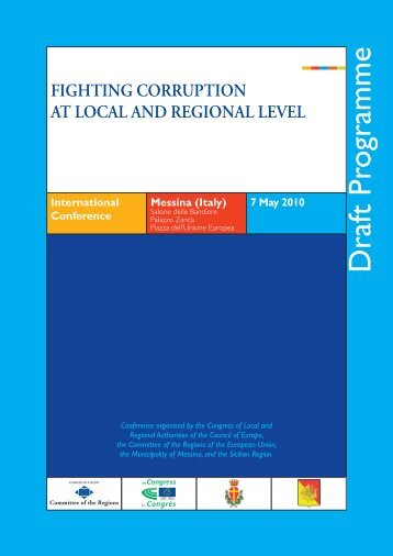 FIGHTING CORRUPTION AT LOCAL AND REGIONAL LEVEL ... - Zels
