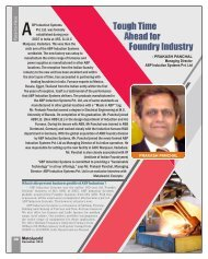 Tough Time Ahead for Foundry Industry - Metalworld.co.in
