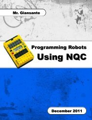 Using NQC